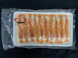 寿司海老 バナメイ 頭肉付 7LHサイズ 20枚入り 190グラム 冷凍 業務用 すし えび 刺身 鮨 寿司ネタ エビ 海鮮丼