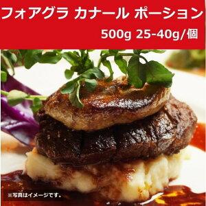 フォアグラ カナール ポーション 500g 25-40g ハンガリー産 冷凍 業務用 ステーキ パテ