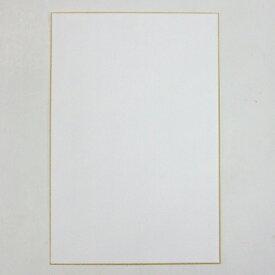 画仙紙 はがき 金椽 10枚 越前和紙 「葉書 絵手紙 一筆 書道」