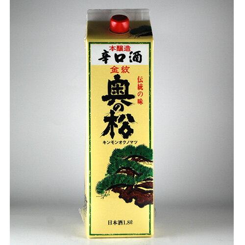奥の松 金紋奥の松 辛口 1.8Lパック