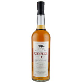 正規品クライヌリッシュ 14年 700ml 43% スコッチウイスキー シングルモルト ハイランド 円筒箱入り