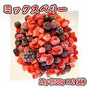 冷凍ミックスベリー 1kg (500g×2袋) イチゴ デザート フルーツ