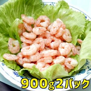 ムキエビ 900g 2パック 1.8kg 業務用 送料無料 ギフト エビ 海老 蝦 むきえび ホワイトタイガー タイ産 天然物 海産物 お取り寄せ 冷凍 お取り寄せグルメ クール便