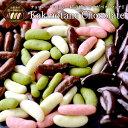 [予約販売]冬季限定チョコたっぷりリッチ仕様柿の種チョコレート選り取り20個まで1配送でお届けメール便【2月28日出荷…