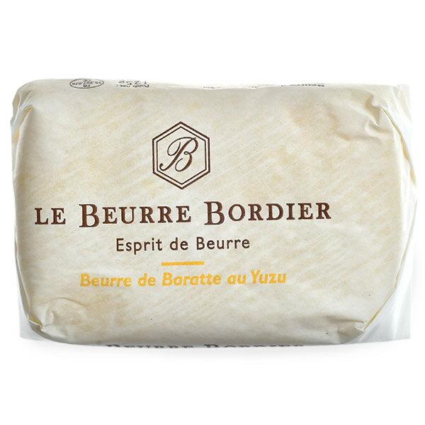 フランス産 ボルディエ[Bordier]バター ユズ125g[冷蔵/冷凍][賞味期限:2019年4月27日]