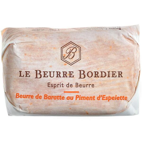 フランス産 ボルディエ[Bordier]バター ピマン エスプレット125g[冷蔵/冷凍可][賞味期限:2019年4月28日]