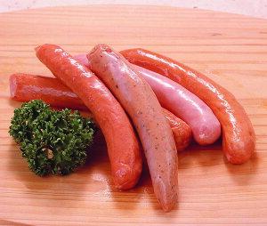コスモフーズ)バラエティーウインナー(5種の味)約100g【業務用食品館 冷凍】