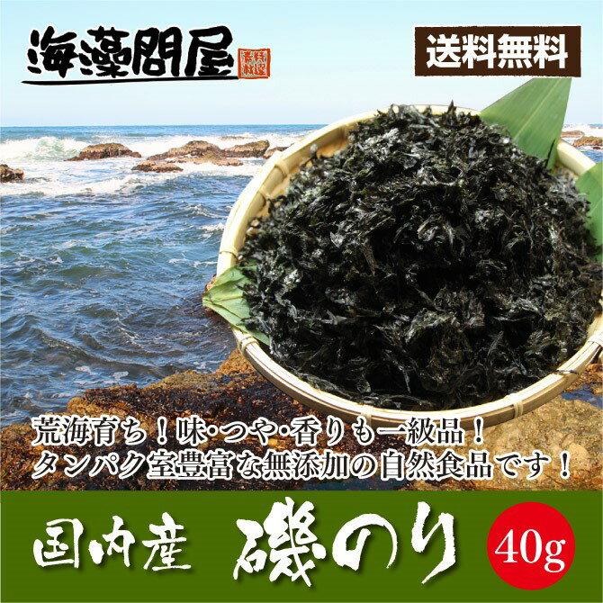 乾燥「磯のり40g(岩のり)」1000円ポッキリ 送料無料 ぽっきり 味噌汁の具材 海苔 無添加食品 ダイエット 低カロリー 自然食品 ミネラル 岩海苔 海藻