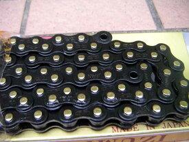 """自転車 チェーン BMX シングルスピード IZUMI 1/8"""" Paint-BK chain(JBJB) ピストチェーン 日本製 強いチェーン イズミ チェーン サビに強い 表面処理 ブラックチェーン【メール便可能】"""