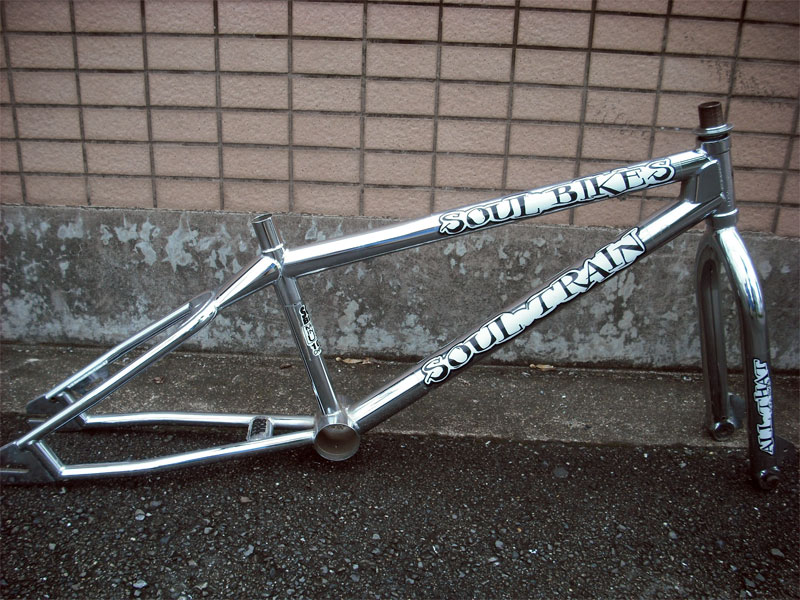"BMX FRAME【SOUL BIKE ""SOUL TRAIN""Frame & Fork Set】フリースタイルフレーム#Vintage BMX#MID SCHOOL#NOS"