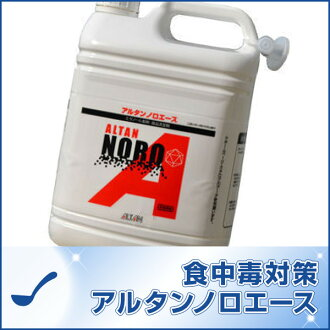 Food poisoning prevention Altan Noro ACE 4.8 L refill ethanol and food additives