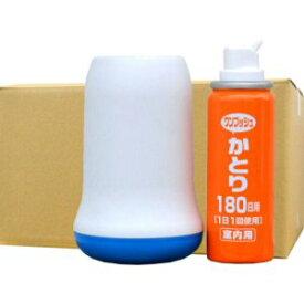 蚊駆除 Wトラップ ワンプッシュかとり 180日用 容器セット×24セット【北海道・沖縄・離島配送不可】