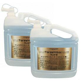 コスケム トレシモンハード 5L×2本 [リセット洗剤・環境配慮型] ヘアライン加工&バイブレーション加工のステンレス素材に対応