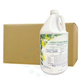 コスケム レモングリーンDD 3.78L×4本 【除菌+洗浄[多目的]洗剤】 EPA登録洗剤