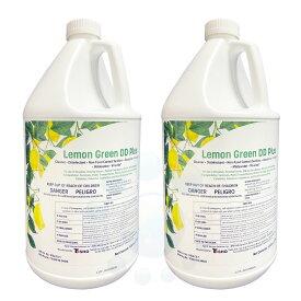コスケム レモングリーンDD 3.78L×2本 【除菌+洗浄[多目的]洗剤】 EPA登録洗剤