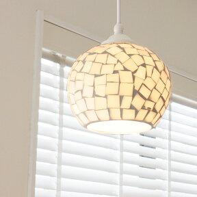 照明LED対応ペンダントライト1灯ビードロライトステンドグラス照明器具おしゃれモザイクレトロ和室玄関トイレ北欧ガラスモロッコリビングペンダントランプダイニング用食卓用寝室インテリア電気ガラスかわいいテレワーク在宅おしゃれ照明