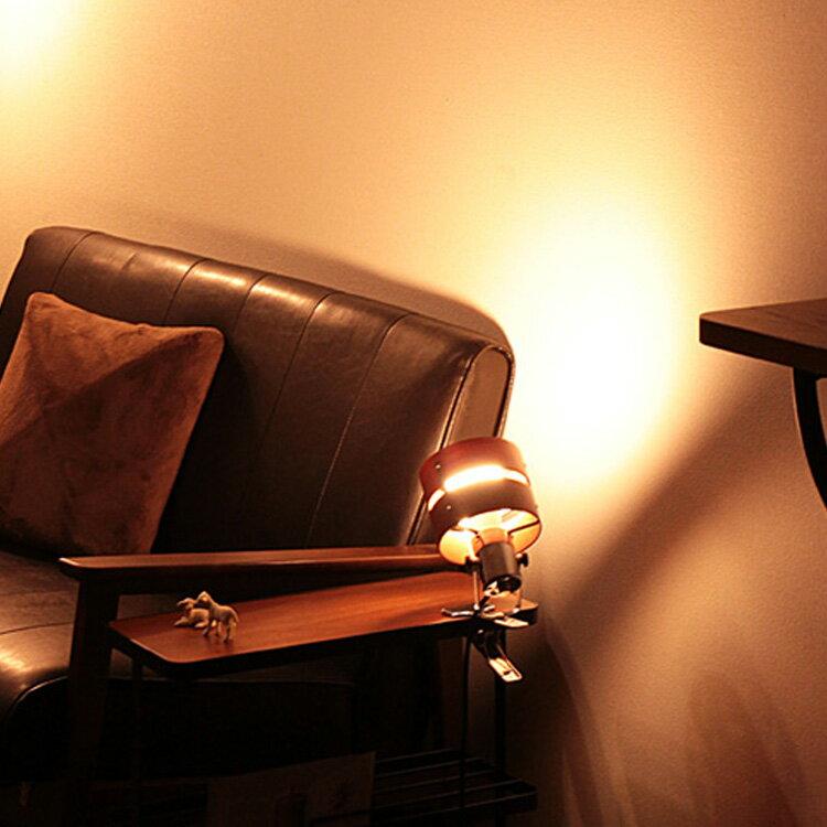 照明 スポットライト 1灯 レダ クリップ【ライト フロアスタンドライト フロアライト 間接照明 照明器具 電気スタンド ライトスタンド 照明スタンド おしゃれ 一人暮らし 和風 和室 北欧 かわいい 卓上 クランプ ダクトレール 寝室 インテリア】