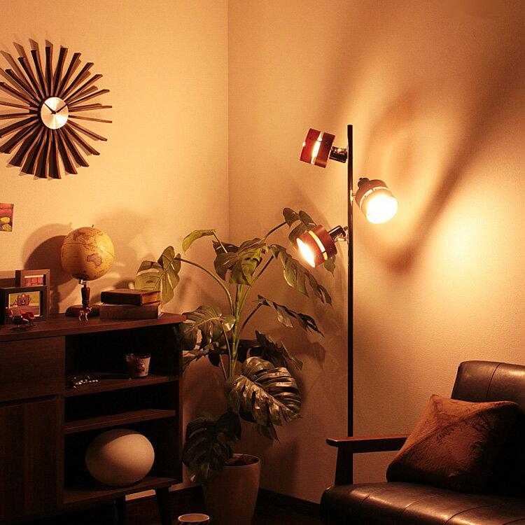 【送料無料・一部地域を除く】照明 LED 対応 フロアライト 3灯 レダ フロア【ライト ブルックリン 西海岸 フロアランプ 間接照明 電気スタンド スタンドライト おしゃれ 北欧 フロアスタンド 寝室 モダン 一人暮らし リビング用 居間用 インテリア】