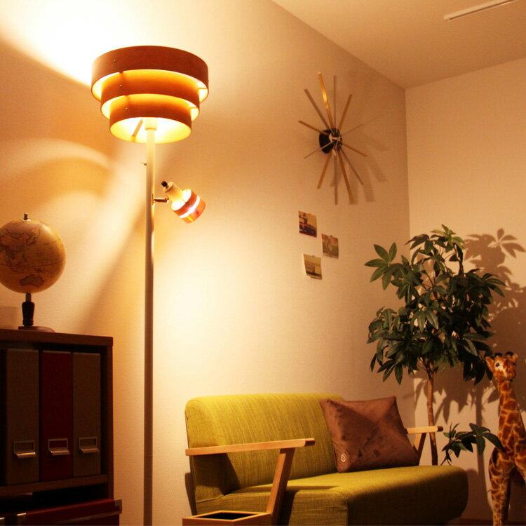 照明 アッパーライト 2灯 レダアッパー【ライト ブルックリン 西海岸 フロアライト フロアスタンド 間接照明 北欧 ミッドセンチュリー 照明器具 おしゃれ スタンドライト 和風 和室 寝室 リビング用 居間用 電気 スポットライト インテリア】
