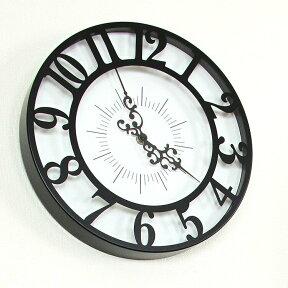 掛け時計ジゼルインターフォルム【壁掛け時計時計ウォールクロックおしゃれかわいいブルックリン西海岸デザイン北欧壁時計クロック壁掛けリビングダイニングアンティークレトロモダンヨーロピアン結婚祝いプレゼント誕生日】