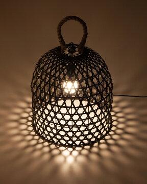 フロアライト1灯かご【テーブルライトテーブルランプフロアランプ間接照明照明器具照明アジアンインテリア】【送料無料】