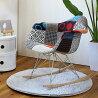 【送料無料・一部地域を除く】イームズロッキングチェアアームシェルチェア【布地座面おしゃれ家具ジェネリック椅子チェア西海岸デザイナーズチェア北欧ナチュラルシンプルデザイナーズリプロダクトeamesかっこいい】