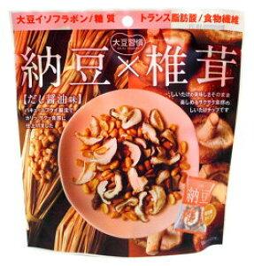 大豆習慣 納豆×椎茸 だし醤油味 6袋入