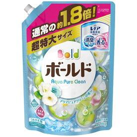 ボールド 洗濯洗剤アクアピュアクリーンの香り詰替用 超特大サイズ 1.26kg