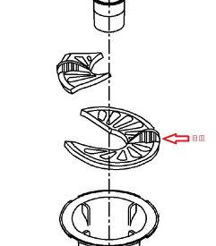 TOTO 洗濯機パントラップ用 目皿 PWH60097W