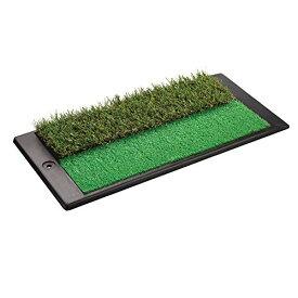 Tabata(タバタ) ゴルフ ショットマット ショット用マット ゴルフ練習用マット ショット&ラフマット 2WAY アプローチパンチャー GV0260