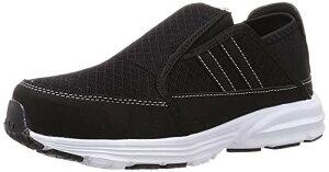 [ヘイギ] 安全靴 かかとが踏める 軽量 セーフティーシューズ 先芯入 スニーカー メンズ ブラック 26 cm