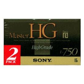 ソニー ベータビデオカセット 2本組 Master HG 2L-750MHGB