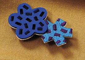 丸眞 装飾雑貨(ファッション小物) SOU・SOU 4×5.5cm 金平糖 日本製 刺繍 ブローチ 6165006200