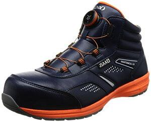 [イグニオ] セーフティシューズ(安全靴) JSAA A種認定 ミドルタイプ TGFダイヤル式 IGS1058TGF ネイビー 30 cm 3.5E