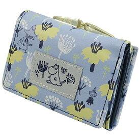 ムーミン[ミニウォレット]三つ折りコンパクト財布/かくれんぼ 北欧
