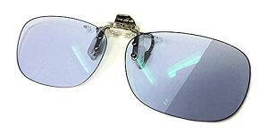 クリップオン 調光 サングラス ネオコントラスト シェード 変色 眼鏡 メガネ の上からつける 前掛け NL