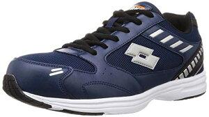 [ロットワークス] LW-S7006 安全靴 作業靴 軽量 樹脂製先芯 幅広(EEE) メンズ ネイビー 25 cm 3E
