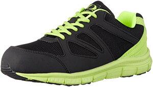 [ジーデージャパン] 安全靴 ・ 作業靴 軽量 ナイロンメッシュ 鋼製先芯 3E GD-811 ブラック 27 cm