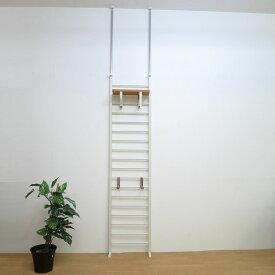 突っ張り ハンガーラック 幅40cm 【日本製・送料無料】 壁面収納 棚付き ハンガーラック パーテーション つっぱり 突っ張り 収納 日本製
