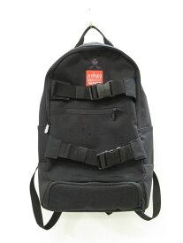 【中古】Manhattan Portage マンハッタンポーテージ × THEORIES セオリーズ リュック McCarren Skateboard Backpack バックパック ブラック メンズ (BG-86)