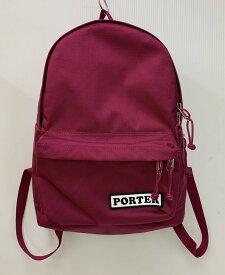 【中古】ポーター PORTER バックパック バッグ レディースバッグ バックパック・リュック ロゴ ピンク 201goods-23