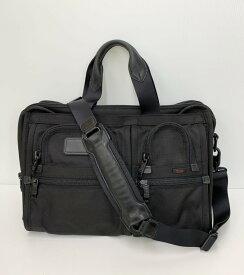 【中古】トゥミ TUMI ブリーフケース バッグ メンズバッグ ビジネスバッグ・ブリーフケース ロゴ ブラック 201goods-39