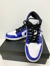 【中古】ナイキ NIKE AIR JORDAN1 LOW エア ジョーダン1 553558-124 メンズ靴 スニーカー ロゴ ブルー 201-shoes7