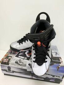 【中古】ナイキ NIKE AIR JORDAN6 RETRO SP エア ジョーダン6 レトロ CL4072-001 メンズ靴 スニーカー ロゴ グレー 201-shoes9
