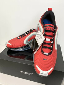 【中古】ナイキ NIKE AIR MAX 720 エア マックス UNDERCOVER アンダーカバー CN2408-600 メンズ靴 スニーカー ロゴ レッド 201-shoes12