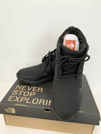 【中古】ノースフェイス THE NORTH FACE NSE Traction Lite WP Chukka スノーボード NF52085 メンズ靴 スノーシューズ ロゴ ブラック 201-shoes22