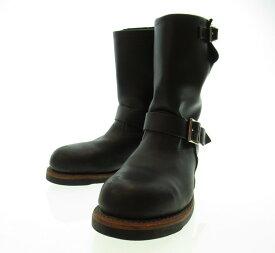 【中古】REDWING レッドウイング レッドウィング 2268 11インチ エンジニア スティールトゥ ブーツ 靴 シューズ ブラック 黒 メンズ サイズ7D (SH-499)
