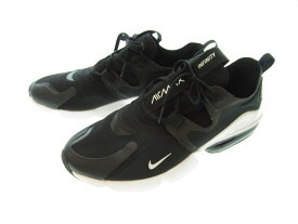 【中古】NIKE ナイキ AIR MAX INFINITY エア マックス インフィニティ ブラック×ホワイト 黒 白 スニーカー シューズ 靴 メンズ サイズ28cm BQ3999-003 (SH-508)