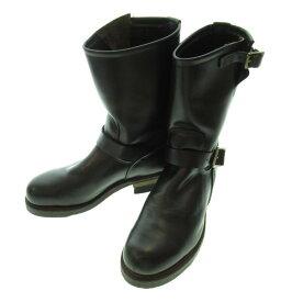 【中古】レッドウィング RED WING PT99 サイズ8 1/2 ワイズD 黒 2268 メンズ靴 ブーツ エンジニア 無地 ブラック 101-shoes1