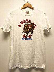【中古】A BATHING APE アベイシングエイプ プリント Tシャツ